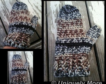 Crochet Pattern for Mittens  CROCHET PATTERN