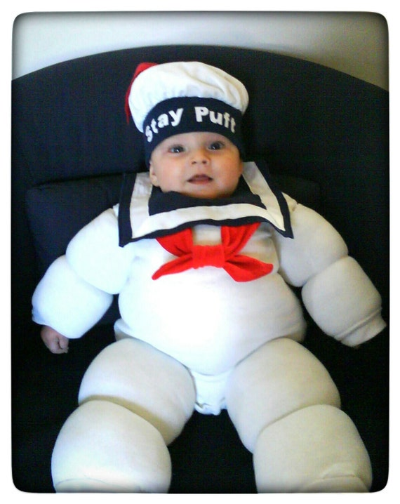 Stay Puft Marshmallow Man Ghostbusters Baby Costume