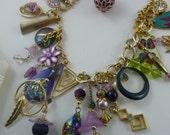 Repurposed Lucite Necklace