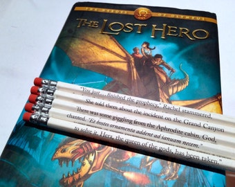 The Lost Hero Wrapped Pencil Set