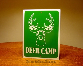 Deer Camp Sign