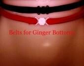 Belts for High Waist bottoms