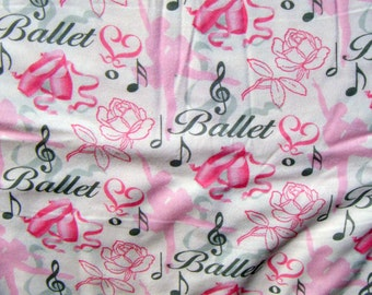 Ballet print Flannel pants pajama dorm lounge made to order your choice size XS - 2X