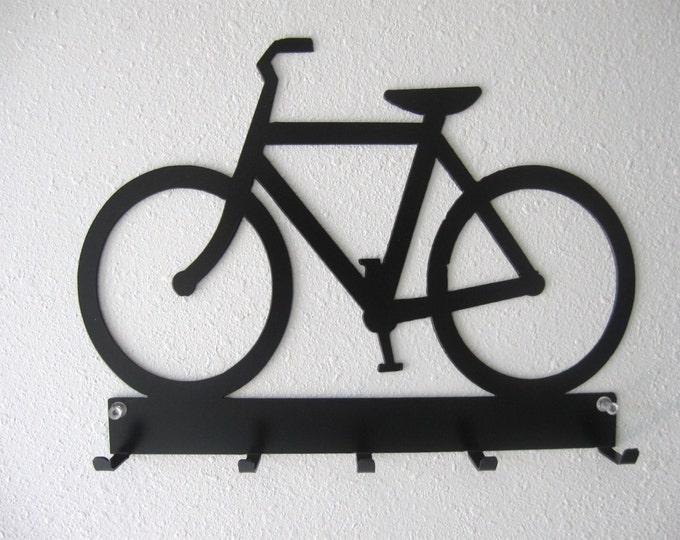 Bicycle Key Belt Rack Metal Wall Hanging