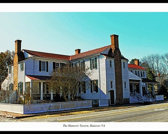Hanover Tavern - Hanover Courthouse VA - Barksdale Theatre  - Fine Art Photography by Dave Lynch - Free Shipping  on any additional purchase
