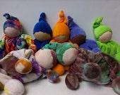 Waldorf Cuddle Doll PDF Pattern Rainbow Montessori Baby Shower Gift