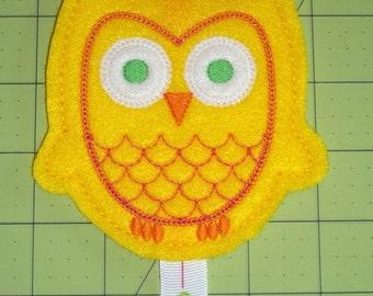Handmade Owl Hair Bow/Clip Keeper