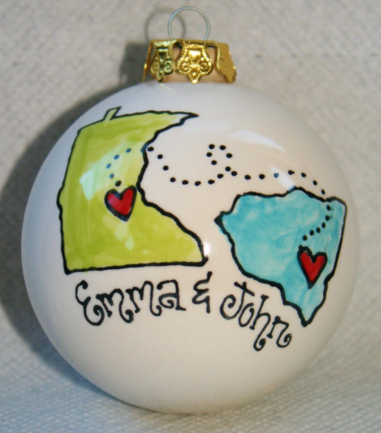 Christmas Gift Ideas For Long Distance Boyfriend: Long Distance Relationship Gift By Rschmitz On Etsy