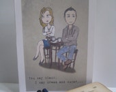 I Love Our Fights Playful Romantic Greeting Card