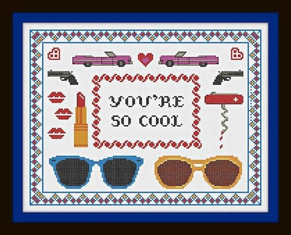 True Romance Cross Stitch Pattern Pdf You Re So By Pyrodogpins