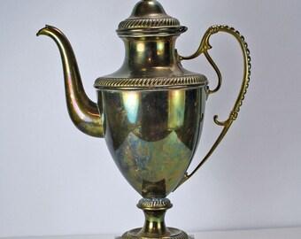 Vintage Brass Coffee Server or Tea Pot