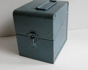 Industrial Blue Box