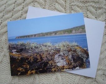 Landscape in Miniature  Note Card Irish Photography Greetings Card Blank Card Note Card