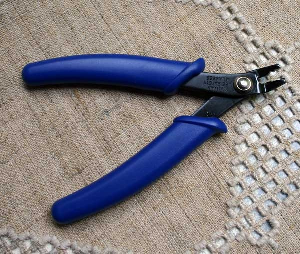 plier crimping tool for using with crimp beads 4 1 2 inches. Black Bedroom Furniture Sets. Home Design Ideas