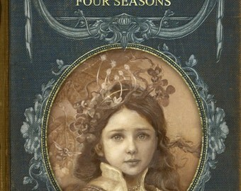 """SALE STANDARD EDITION Sketchbook """"Thumbelina and the Four Seasons"""""""