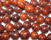 Bombona Beads, Pambil Beads, Warm Brown Marble Beads,  Organic Beads, Natural Beads, Vegetable Ivory Beads, EcoBeads