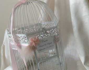 Glamour Couture Line Birdcage Card Holder