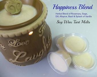 Wax Melts | Happiness Blend | 8 oz Aromatherapy Melts | Candle Tart Melts | Yoga Melts | Reiki Tarts | Meditation Tart | Intention Melts