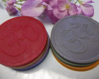 OM Wax Melts | Soy Tart Melts | Aromatherapy Soy Melts | OM Candle Tart | Meditation Tarts | Chakra Wax Melt | OHM Tart Melts | Soy Wax Melt