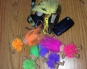 troll doll keychains with kosh body
