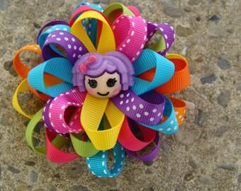 Lalaloopsy Hair Bow Loopy Flower Hair Bow