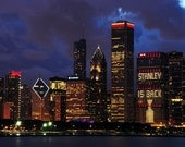 STANLEY is BACK Skyline Chicago Blackhawks Stanley Cup