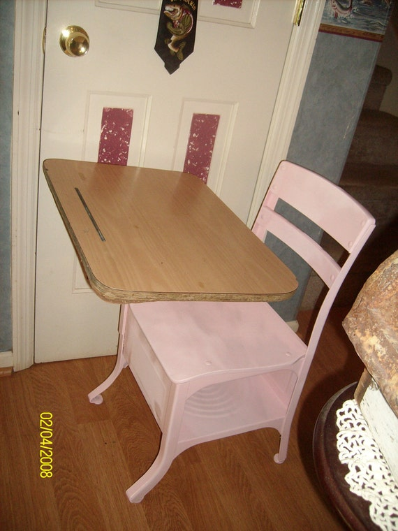 Pink Painted Wood And Metal Vintage School By. Job Desk Marketing Bank. Metal Desk Drawers. Portable Tables. Wrought Iron Console Table. Foldable Tables. Desk Treadmill Canada. Sligh Holland Michigan Desk. Dining Table Rustic
