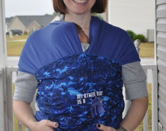 Doctor Who Moby Inspired Baby Wrap