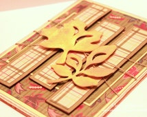Fall Card - The Changing Face of Fall  - Handmade Fall Card - Autumn Card - Thanksgiving Card