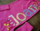 Personalized or Monogram Infant Gown