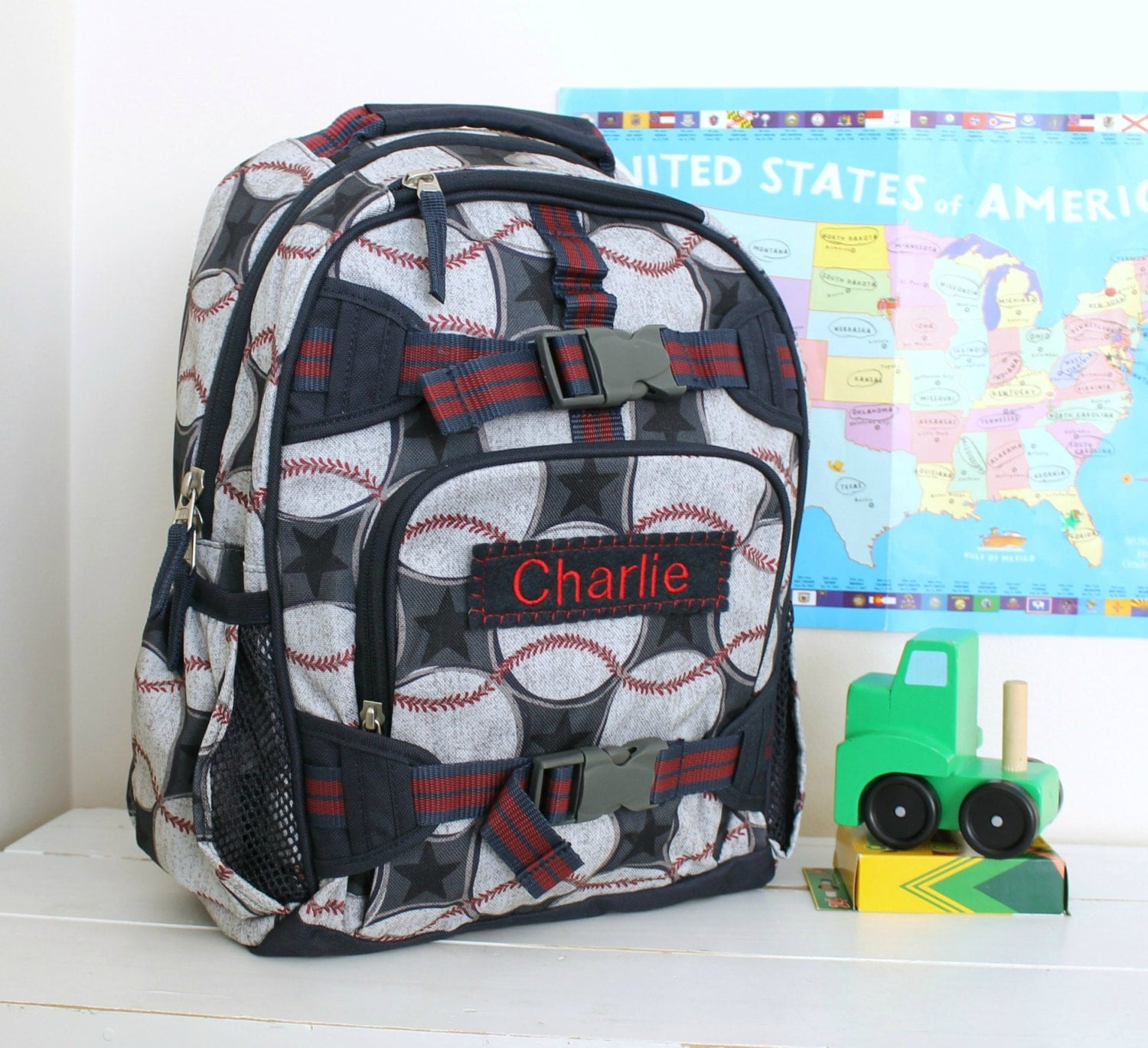 Small Boys Backpack Pottery Barn Small Size Baseball