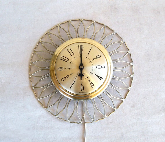 Mid Century Sessions Electric Wall Clock Mod By Leapinglemming