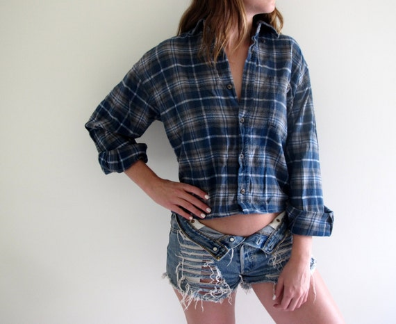 Flannel Shirt Womens