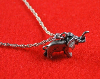 Alabama Crimson Tide charm necklace silver