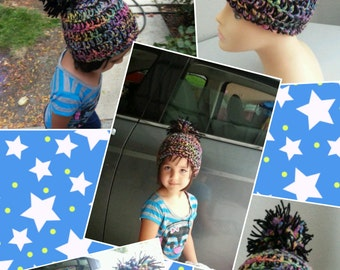 Colorful child hat