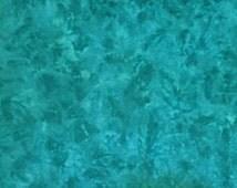 Aegean Sea - Spot hand dyed rug hooking wool fabric -  Fat Quarter