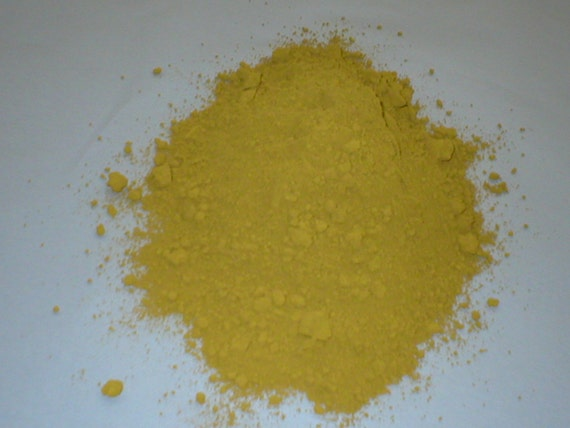 Cement Color Powder : Yellow powder color or dye for concrete cement by