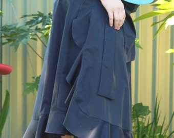 Maternity Wrap Around Skirt. FREE SHIPPING! Simply enter coupon code FREESHIPPING11 at checkout.