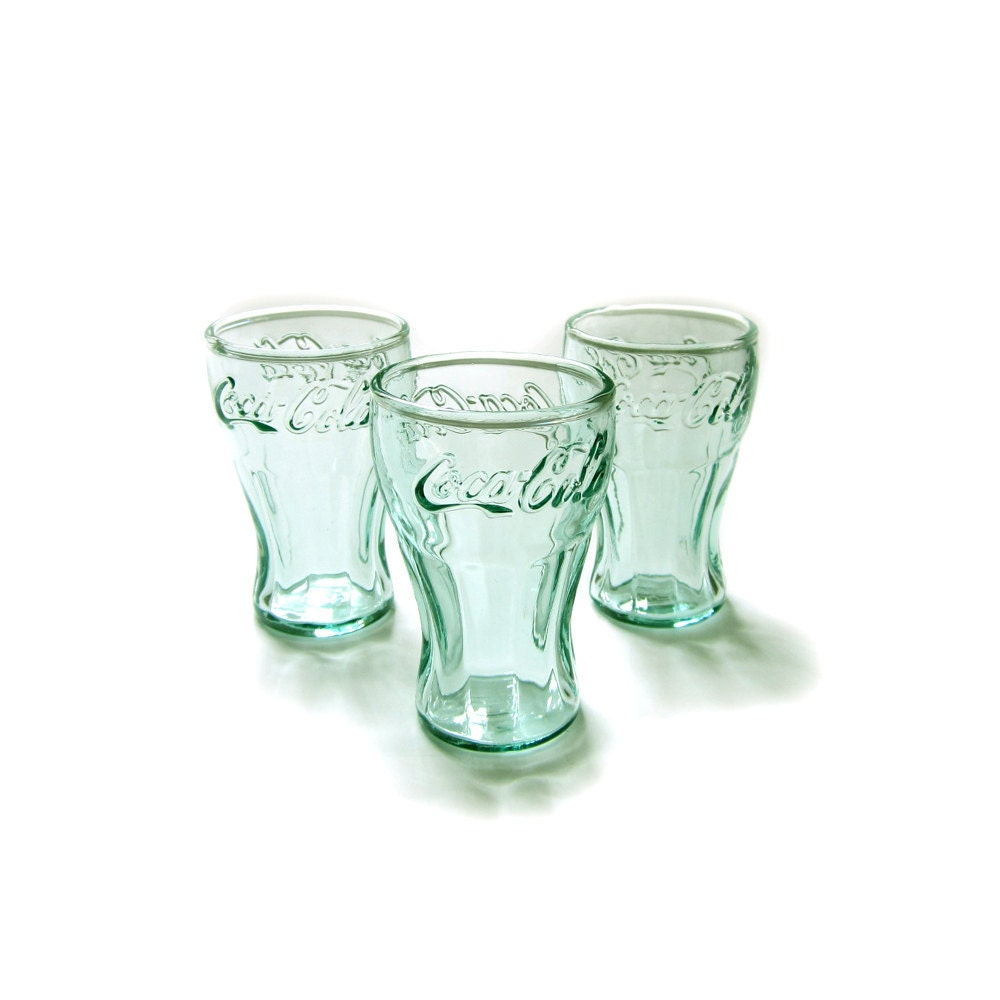 Vintage Coke Glasses 18