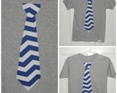 Chevron Tie T-Shirt