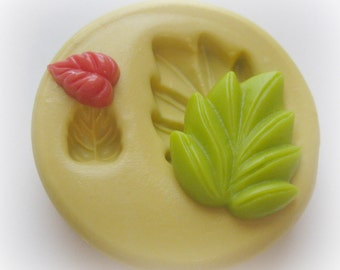 Leaf Mold Silicone Mold Resin Polymer Clay Fondant Moulds