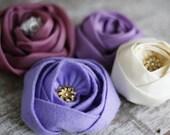 Fabric Flower Tutorials: Fabric Flower Pattern, Sewing Patterns, PDF Patterns&Tutorials, Rose Sewing Patterns, Rose Tutorial, Sewing Pattern