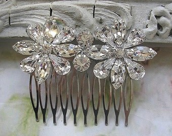 Wedding Hair Comb, Rhinestone Hair comb, Bridal hair comb, wedding hair accessory,Jewelry Wedding