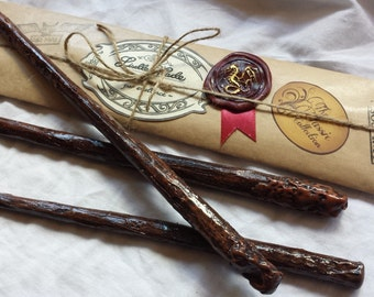Classic Magic Wand, Harry Potter inspired, Wizard Wand