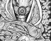 Tali Original Drawing