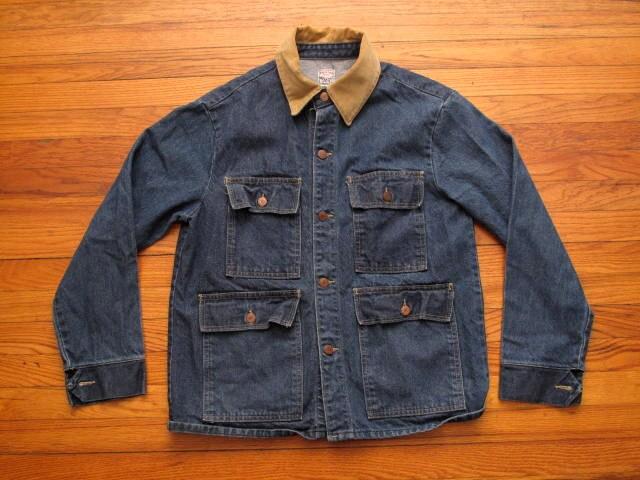 Mens Vintage Pointer Brand Denim Chore Jacket Reserved For