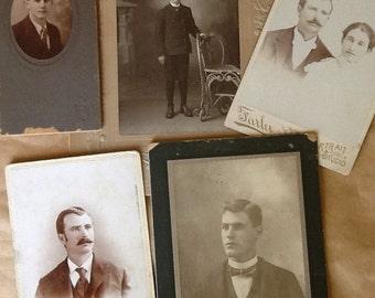Five Antique Photographs