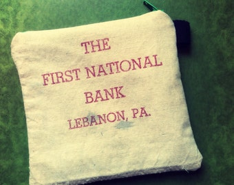 National Bank Pouch