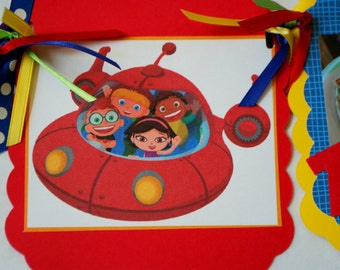 Little Einsteins Photo Banner - Choose Your Character or Theme- Custom Orders Available