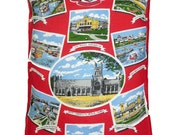 Vintage Great Yarmouth Cushion/ Pillow